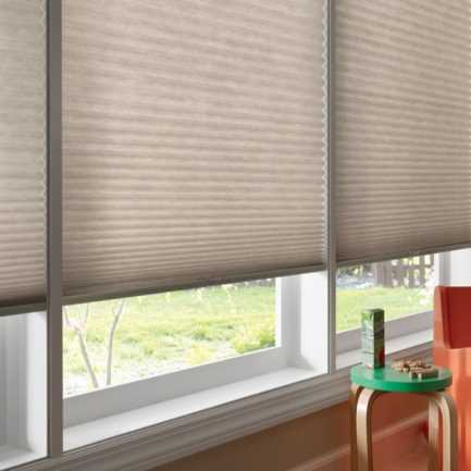 "1/2"" Single Cell (Good Housekeeping) Designer Signature Light Filtering Honeycomb Shades 4341"