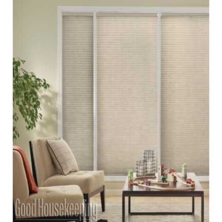 "1/2"" Single Cell (Good Housekeeping) Designer Signature Blackout Honeycomb Shades 4376"