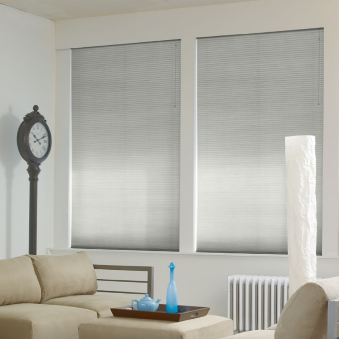 """1/2"""" Double Cell Premium Light Filter Honeycomb Shades"""