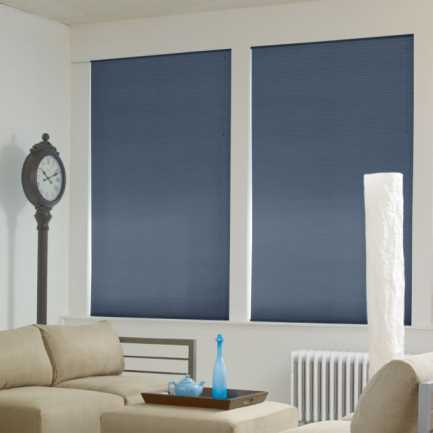 """1/2"""" Double Cell Super Value Blackout Honeycomb Shades 4367 Thumbnail"""
