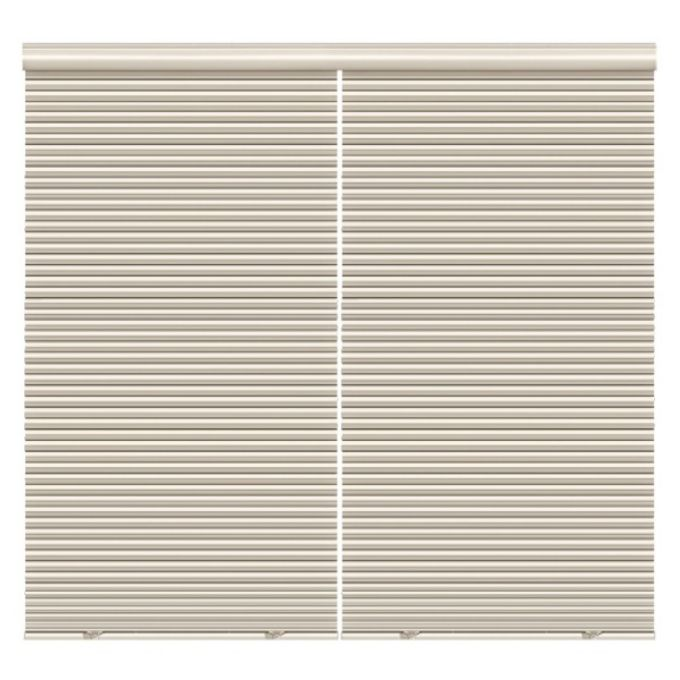 """1/2"""" Double Cell Super Value Blackout Honeycomb Shades 4369"""