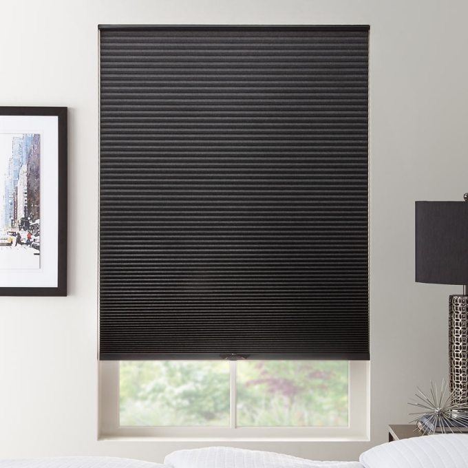 1 2 Quot Double Cell Value Blackout Honeycomb Shades
