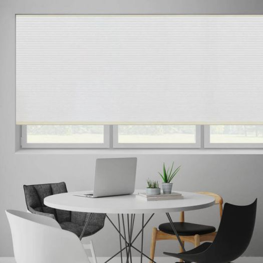 "1/2"" Double Cell Blackout Honeycomb Shades 6103"