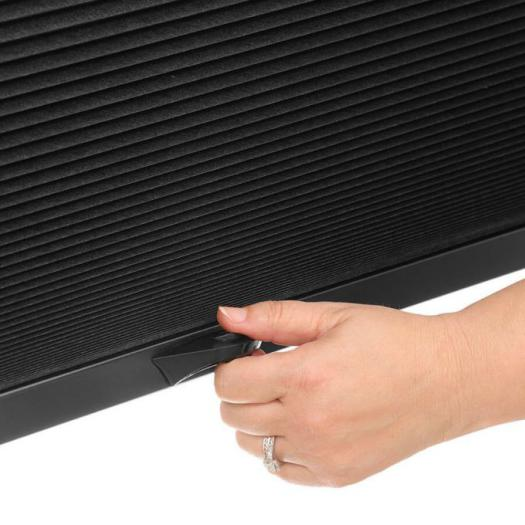 "1/2"" Double Cell Blackout Honeycomb Shades 6106"