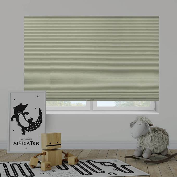 "1/2"" Double Cell Value Plus Blackout Honeycomb Shades 5363"
