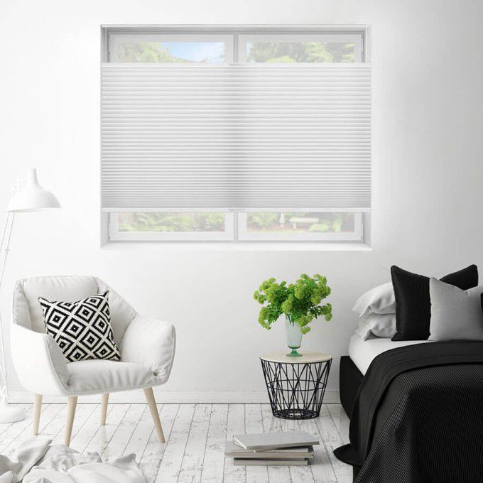 """1/2"""" Double Cell Value Plus Light Filter Honeycomb Shades 5404"""