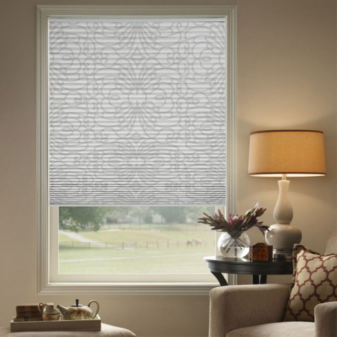 """1/2"""" Single Cell (Carriann) Designer Signature Blackout Honeycomb Shades 4262"""