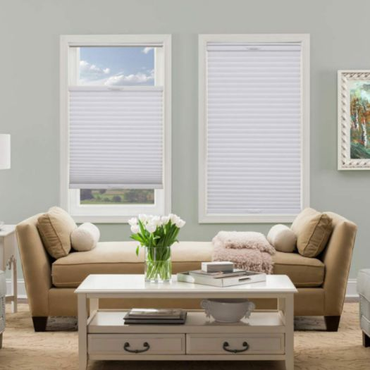 "1/2"" Single Cell (Carriann) Designer Signature Light Filtering Honeycomb Shades 4240"