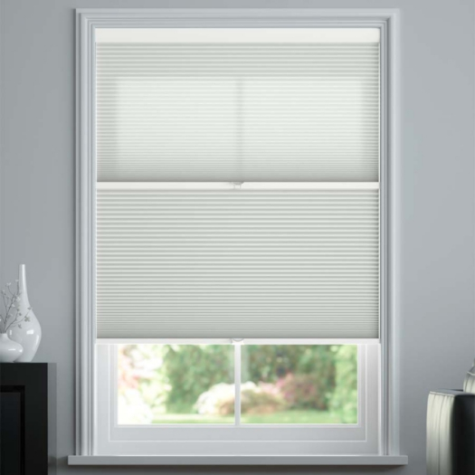 "1/2"" Single Cell Day Night Honeycomb Shades 4693"