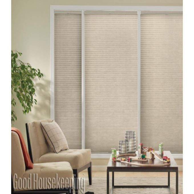 "1/2"" Single Cell (Good Housekeeping) Designer Signature Blackout Honeycomb Shades"
