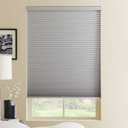 "1/2"" Single Cell Premium Plus Cordless Blackout Honeycomb Shades 5023"