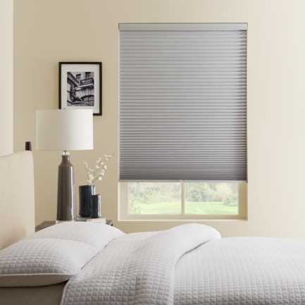 "1/2"" Single Cell Premium Plus Cordless Blackout Honeycomb Shades 5025"