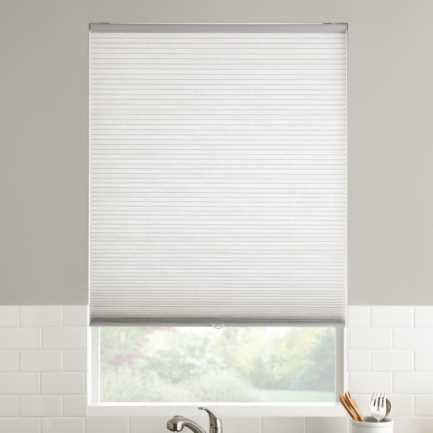 "1/2"" Single Cell Value Cordless Light Filter Honeycomb Shades 5083"