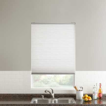 "1/2"" Single Cell Value Cordless Light Filter Honeycomb Shades 5085"