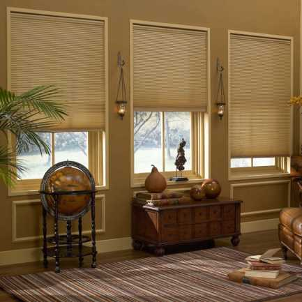 "1/2"" Single Cell Value Cordless Light Filter Honeycomb Shades 5087"
