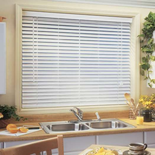 "1"" Premium Faux Wood Blinds 4194"