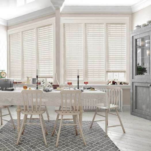 "1"" Premium Faux Wood Blinds 4195"