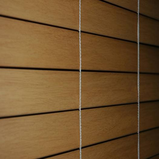 "1"" Premium Faux Wood Blinds 4196"