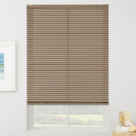 "1"" Designer Cordless Aluminum Blinds 4678 Thumbnail"