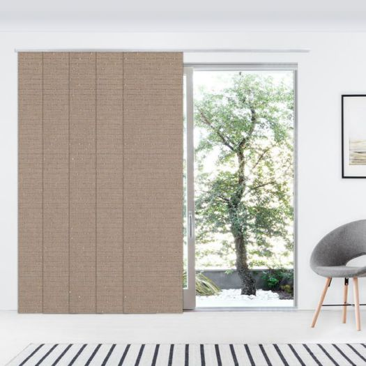 1% SheerWeave Premium Panel Track Blinds 5801