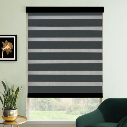 "3"" Value Room Darkening Sheer Shades 4396"