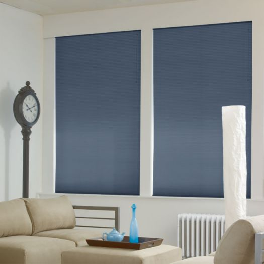 "1/2"" Double Cell Super Value Blackout Honeycomb Shades 4367"