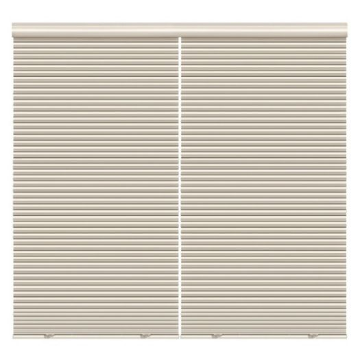 "1/2"" Double Cell Super Value Blackout Honeycomb Shades 4369"