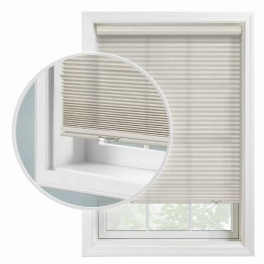 "1/2"" Double Cell Super Value Blackout Honeycomb Shades 4370"