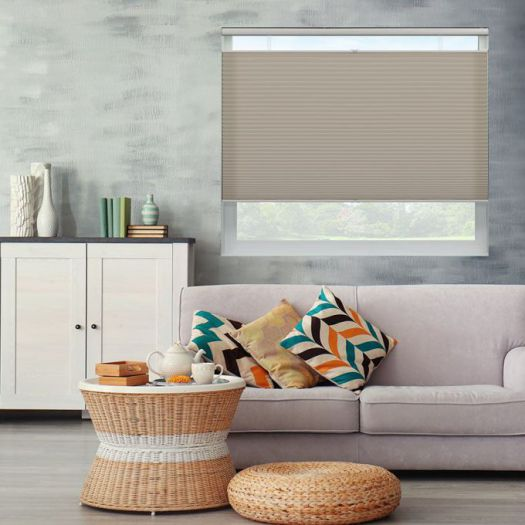Value Light Filtering Cordless Top Down Bottom Up Honeycomb Shades 6703 Thumbnail