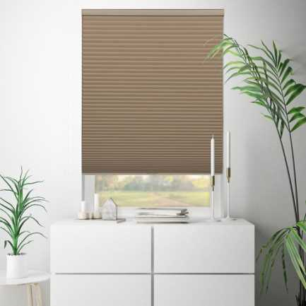 Value Cordless Blackout Honeycomb Shades 6809