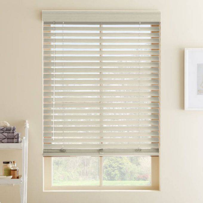 2 189 Quot Premium Faux Wood Blinds Select Blinds Canada