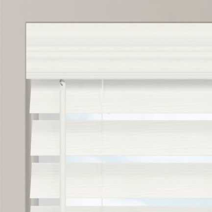 "2 1/2"" Premium Faux Wood Blinds 4594 Thumbnail"