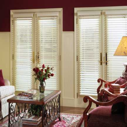 "2""(Carriann) Designer Signature Faux Wood Blinds1 4303"