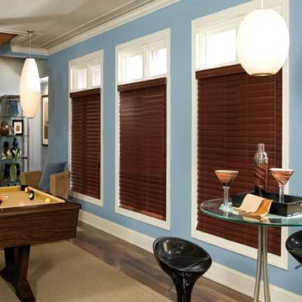 "2""(Carriann) Designer Signature Faux Wood Blinds1 4304"