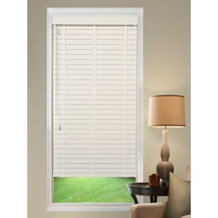 "2""(Carriann) Designer Signature Faux Wood Blinds1 4305"