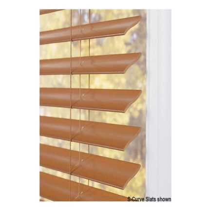 "2""(Carriann) Designer Signature Faux Wood Blinds1 4306"