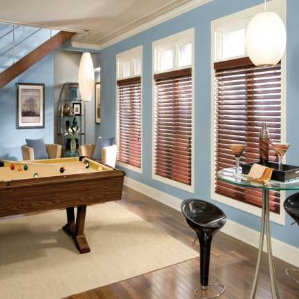 "2"" Designer Faux Wood Blinds 4488"