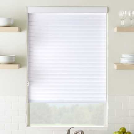 "2"" Premium Cordless Light Filtering Sheer Shades 4748 Thumbnail"