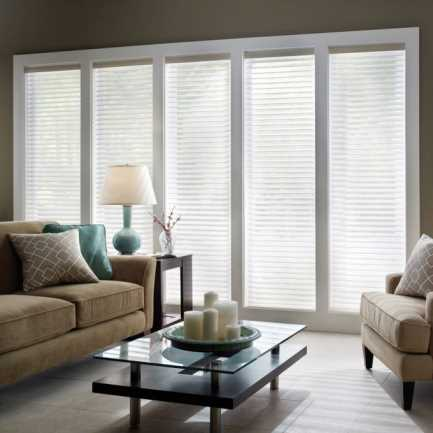 "2"" Premium Cordless Light Filtering Sheer Shades 4751"