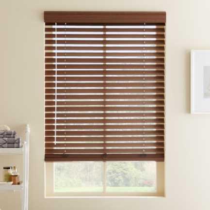 """2"""" Premium Plus Faux Wood Blinds 4559"""