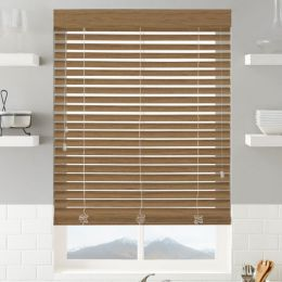 "2"" Super Value Faux Wood Blinds"