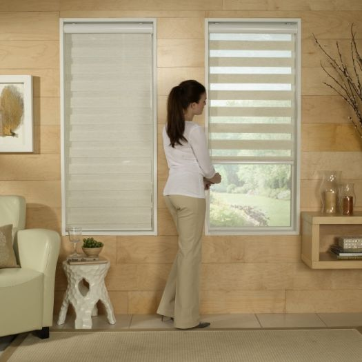 "2"" Room Darkening Sheer Shades 6255"