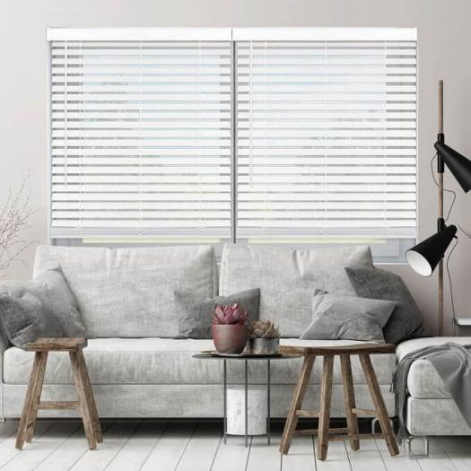 Budget Blinds Reviews: 2 Super Value Cordless Faux Wood Blinds