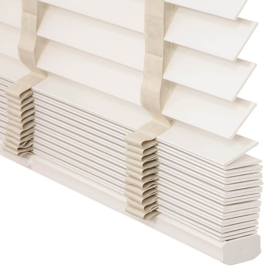 "2"" Designer Faux Wood Blinds 7014"