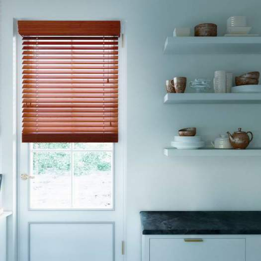 "2"" Designer Faux Wood Blinds 4489 Thumbnail"