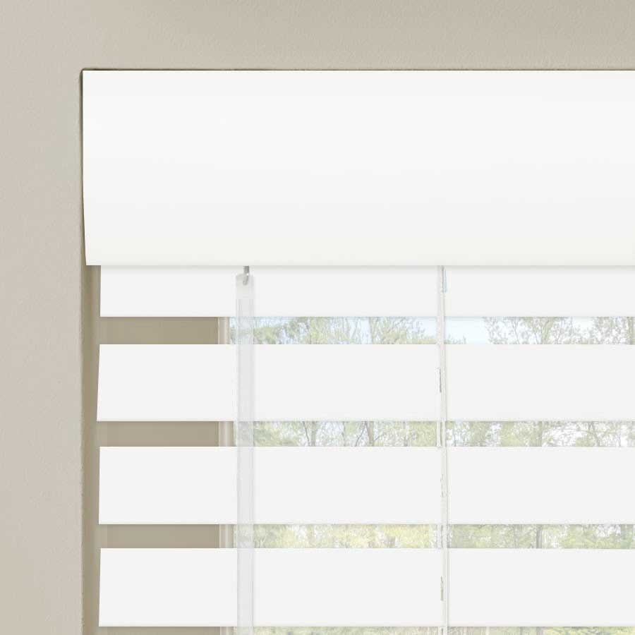 "2"" Designer Faux Wood Blinds 7011"