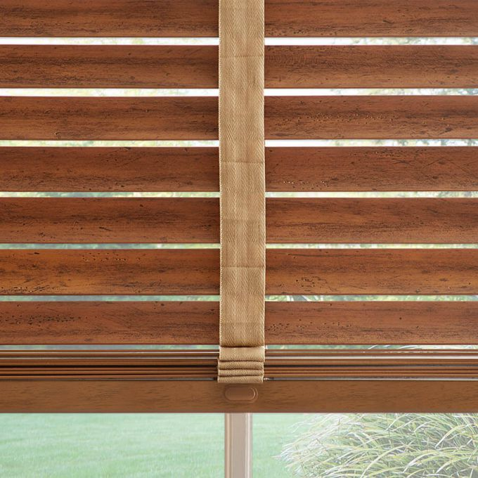 """2"""" Distressed Wood Blinds 7111"""
