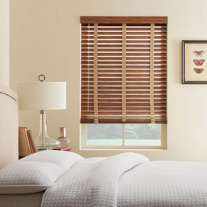 """2"""" Distressed Wood Blinds 7112"""