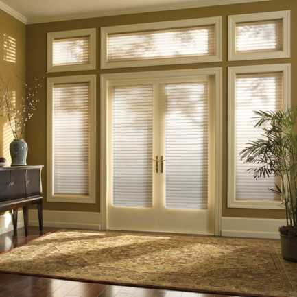 "2"" Premium Cordless Room Darkening Sheer Shades 4781"