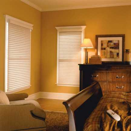 "2"" Premium Cordless Room Darkening Sheer Shades 4782 Thumbnail"